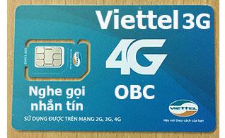 Sim 3G/4G Viettel V90 60Gb nghe gọi, nhắn tin