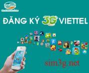 Sim 3g Viettel Dcom dùng cả năm với tốc độ cao, dung lượng 5Gb/tháng
