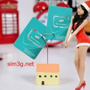Sim 3G Viettel Dcom 5Gb/tháng giá chuẩn cho iPad Mini 3 Retina Cellular 16GB