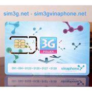 Sim 3G Vinaphone 6Gb nghe gọi cộng dồn data