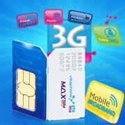 Sim 3G Vinaphone 18Gb ezcom trọn gói 06 tháng