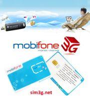 Sim 3G Mobifone Fast Connect 108Gb
