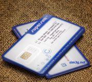 Sim 3G/4G Mobifone 62Gb/tháng tốc độ cao