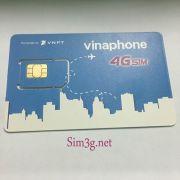 Sim 3G/4G Vinaphone 30Gb/tháng không giới hạn dung lượng